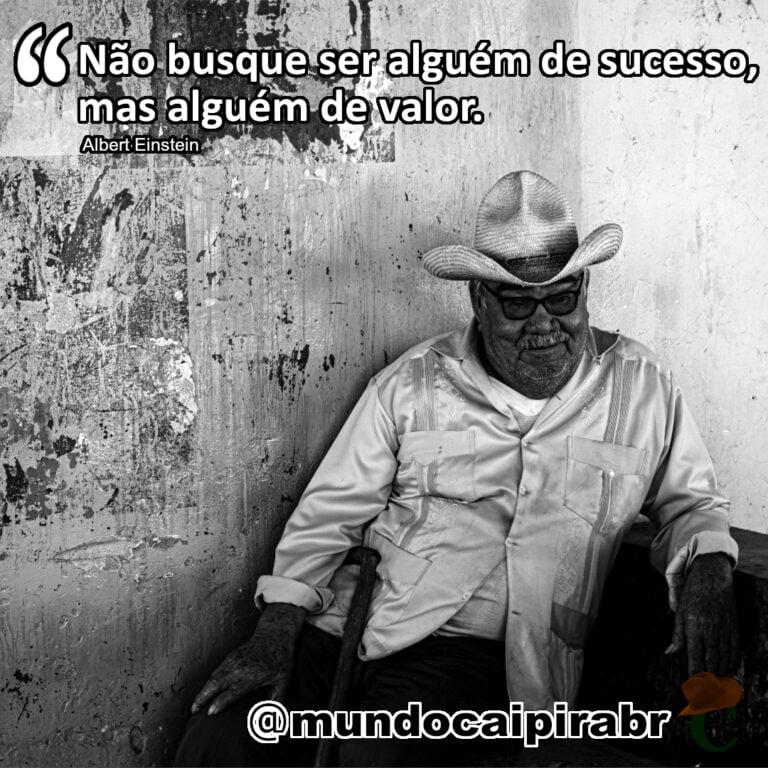 """""""Não busque ser alguém de sucesso mas alguém de valor."""""""